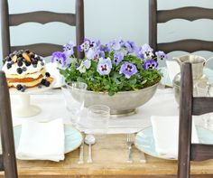 Mother's Day Spring Luncheon from @Jenny Hobick
