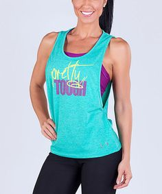 Another great find on #zulily! Jade Heather Riot Tank by TLF Apparel #zulilyfinds