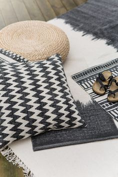 Rugs and pillows