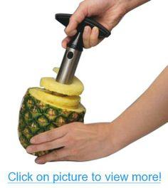 Easy Tool Stainless Steel Fruit Pineapple Corer Slicer Peeler Cut