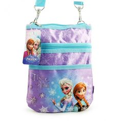 "Disney Frozen Anna and Elsa Purse [Turquoise] Was: $24.99- Now only: $14.99 To purchase, comment ""Sold"" then register here: https://www.soldsie.com/pin/554309 Ideal for the Disney Frozen fan, comes this ultra cool Anna and Elsa purse. Measures approximately 9 in x 7 in."