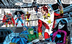 The Avengers vs Nebula