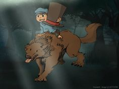 Professor Layton Series: Befriending a Werewolf by Beeju on deviantART