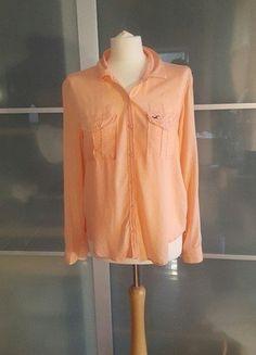 Kup mój przedmiot na #vintedpl http://www.vinted.pl/damska-odziez/koszule/18382569-hollister-koszula-viskoza-100-mgielka
