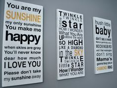 NEED the sunshine board for my baby girls room!