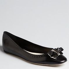 Christian Dior Bow Flats (20% off)