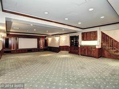9050 FALLS RUN RD, MCLEAN, VA 22102 - Media Cabinet near Bar