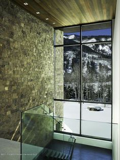 Cool stairs in Aspen
