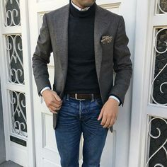 Gentleman Style - Outfits for Work Blazer Outfits Men, Stylish Mens Outfits, Casual Male Outfits, Dress Outfits, Herren Outfit, Mens Fashion Suits, 80s Fashion, Fashion Ideas, Business Casual Outfits