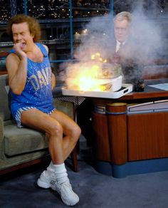 Richard Simmons on Dave...and hilarity always ensued...