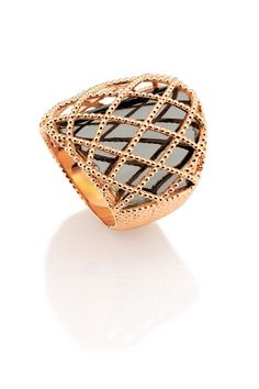 carla amorim chapel ring in rose gold