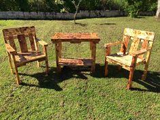 Pallet Garden Furniture Idea