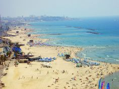 Israel Forever, Coast of Tel Aviv, Israel