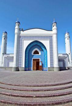 Blue Mosque, Atirau | Kazakhstan (by AgusValenz)