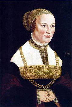 Portrait de Martha Ehinger, 1540 Jakob Seisenegger