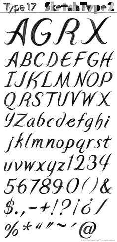 T.26 Digital Type Foundry | EPS : SketchType 2