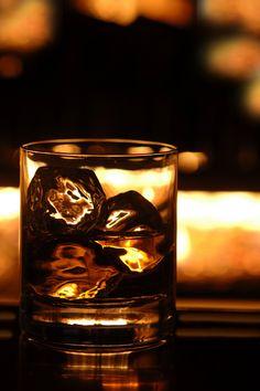 Whiskey on the rocks...   www.hopscotchtavern.com