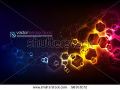 Abstract Vector Background by yienkeat, via ShutterStock