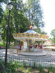 Carousel in the Bernardinai Garden
