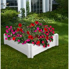 New England Arbors Huntington Planter Box