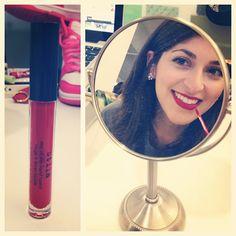 BB Social Media Associate Sarah has a new signature lip, the stila stay all day liquid lipstick in Beso.