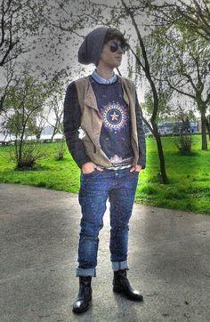 street tomboy fashion