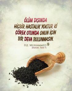 Daha fazlası için tıklayınız. #çörekotu #hadis #dini #diniresimler #Allah #Muhammed #Peygamber #dua Food, Meal, Essen, Hoods, Meals, Eten