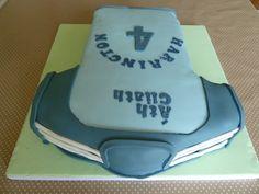 Dublin GAA Football Jersey Cake made by Bakedy Cake Football Fans, Football Jerseys, Sport Cakes, How To Make Cake, Dublin, Birthdays, Sports, Football Shirts, Anniversaries