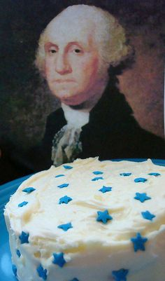 George thinks the cake is great by cakespy, via Flickr