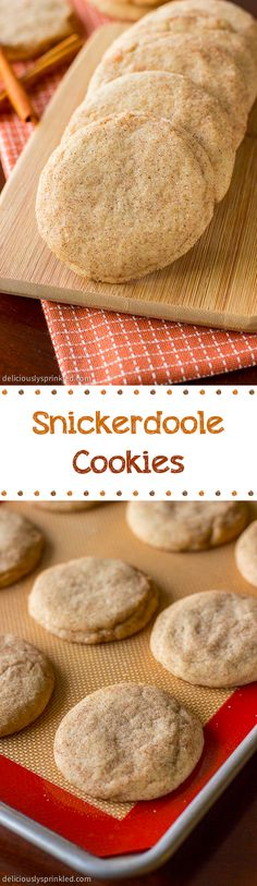 Homemade Snickerdoodle Cookies