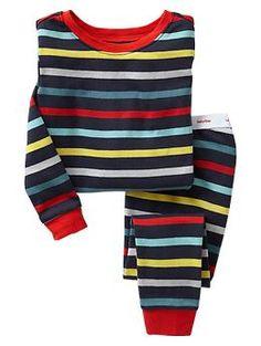 Stripe PJ sleep set