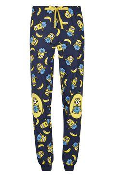 Bas de pyjama Minions avec bords-côtes