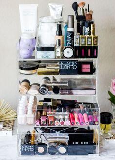 GLAM luxe cosmetic organizer or icebox cosmetic organizer