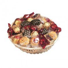 Sorteo de cesta de dulces navideños