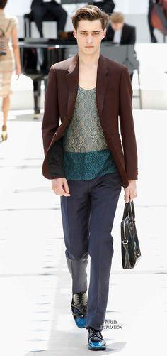 Burberry Prorsum Men's Fashion RTW | Purely Inspiration