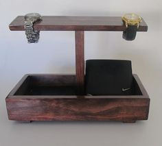 Hey, I found this really awesome Etsy listing at https://www.etsy.com/listing/207674065/men-watch-holder-and-men-valet-box