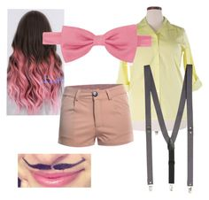 """Wilford Warfstache"" by harliplier ❤ liked on Polyvore featuring Chico's, Forzieri, Topman and plus size clothing"