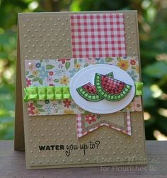 Water You Up To _pb by peanutbee - Cards and Paper Crafts at Splitcoaststampers