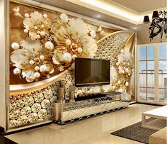 Home Improvement Beibehang Papel De Parede,european Style Palace Flower Tv Sofa Background Wallpaper 3d Fresco Sticker Bedroom Custom Size Factory Direct Selling Price Painting Supplies & Wall Treatments