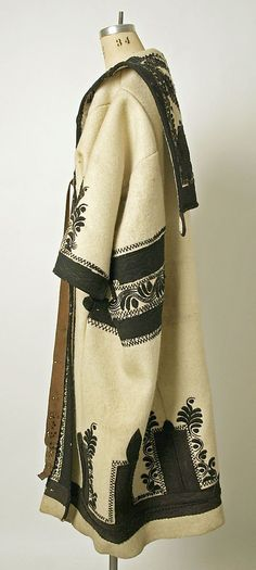 67134ef94dea Coat Date  late 19th century Culture  Hungarian Medium  wool Μόδα Μποέμ