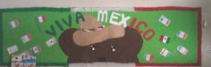 September bulletin board for Mexico`s independence day!