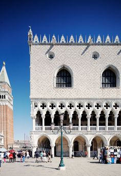 Take in the sights of #Venice, #Italy, like the Doge's Palace.