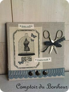 DSC05252 Coin Couture, Shaby Chic, Sewing Cards, Cross Stitch Finishing, Barbie Accessories, Shabby Chic Decor, Shadow Box, Altered Art, Home Deco