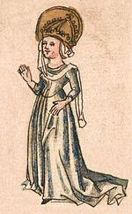 Hildegarde de Vintzgau- PEPIN LE BOSSU, 1) CIRCONSTANCES DE SA NAISSANCE, 2: Leur lien subit les influences du mariage de Charlemagne avec DESIREE, fille de Didier, roi des Lombards. Elle est répudiée, et Pépin désormais considéré comme illégitime. Par la suite, ayant très vite répudié Désirée, Charlemagne épouse HILDEGARDE DE VINTZGAU, qui lui donne plusieurs fils légitimes.