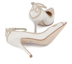 b992348a2085 New Charlotte Mills wedding shoes have a lucky finishing touch!