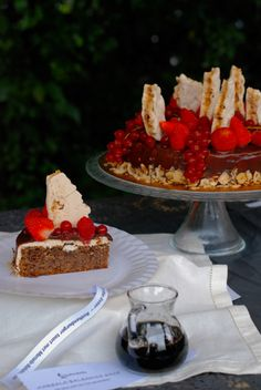 ROTHENBURGER TAART MET MARSALA-BALSAMICO SAUS Ria Ester won met deze taart de taartenbakwedstrijd 2017 op het Festival der Zoete Verleidingen in Sleen.