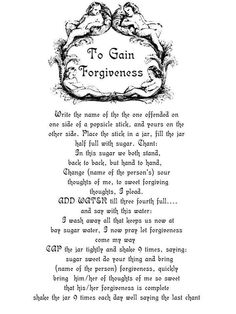 to gain forgiveness