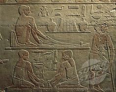 Ancient Egyptian weaving