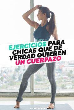 Ejercicios que sólo debes hacer si quieres tener el mejor cuerpo posible ¡así de sencillo!