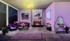 living night episode anime interactive bedroom int rose romantic backgrounds fondos livingroom scenery episodes gacha cenario quarto decoracao animation